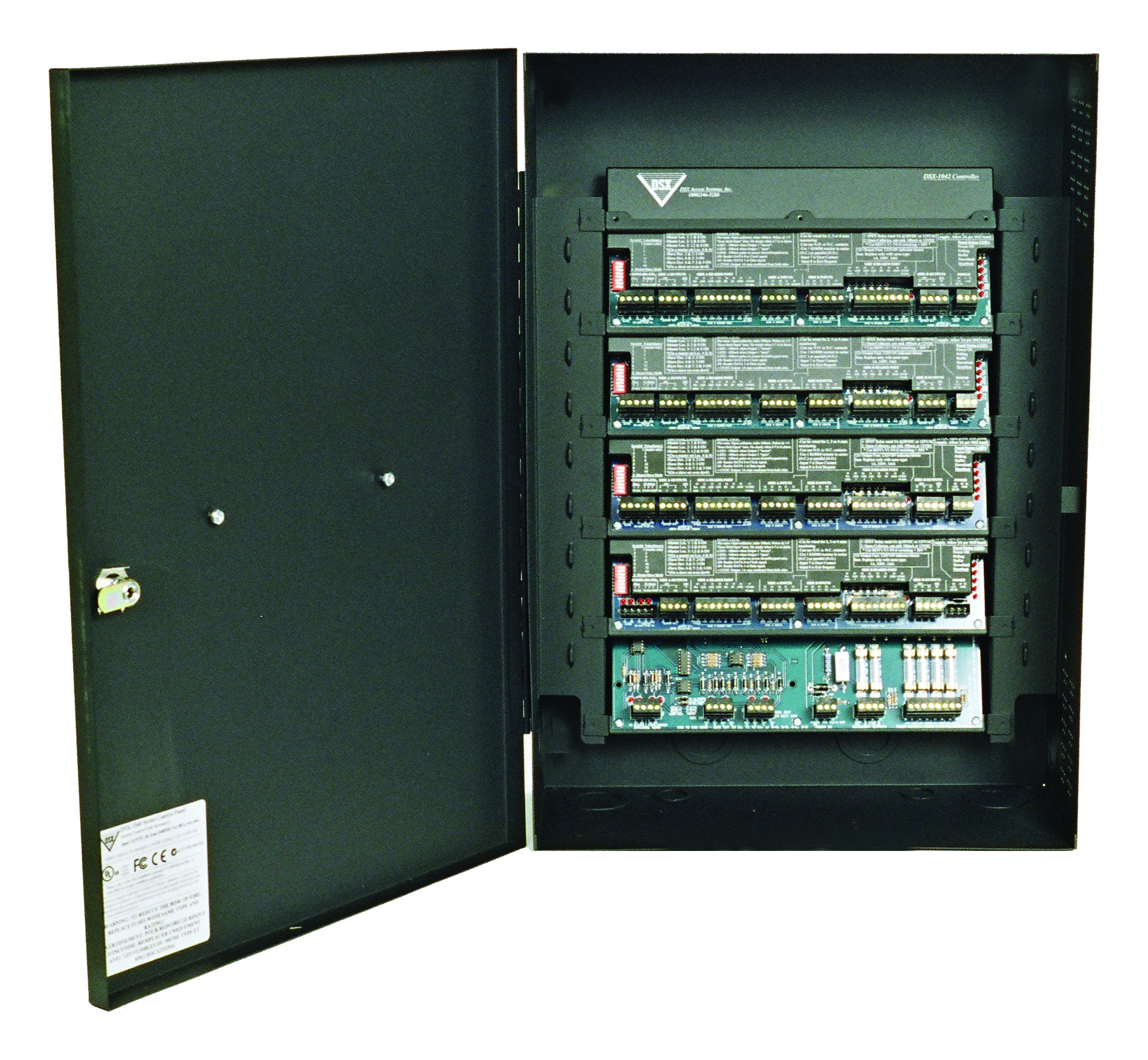 Open security system box